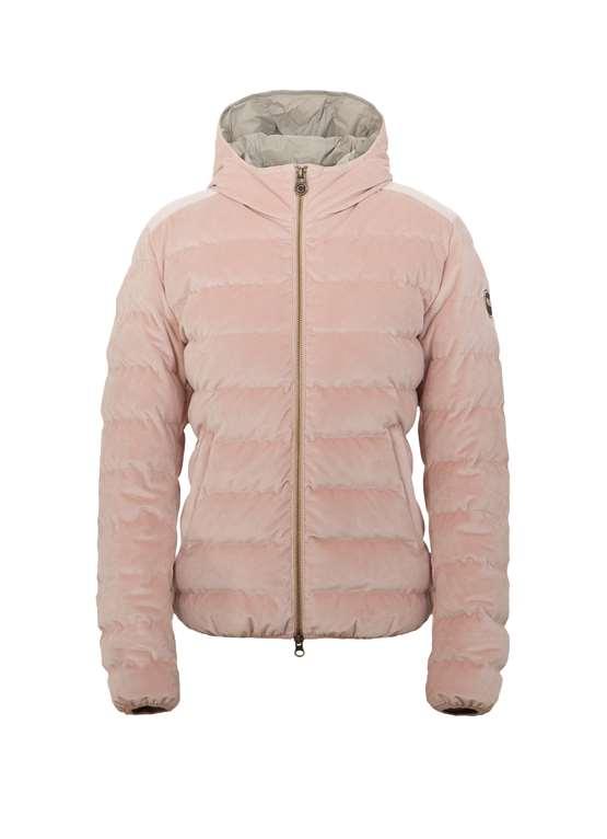 af7eb0c7956ab Un classico di Colmar Originals riproposto per la collezione  Autunno Inverno 2015-2016  il tessuto esterno in morbido velluto rosa  liscio a trapuntatura ...