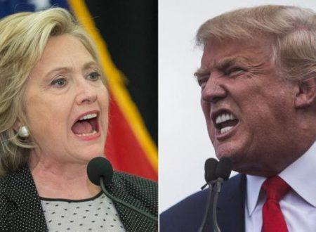 Presidenziali Usa Hillary Clinton vs Donald Trump campagna elettorale senza esclusioni di colpi