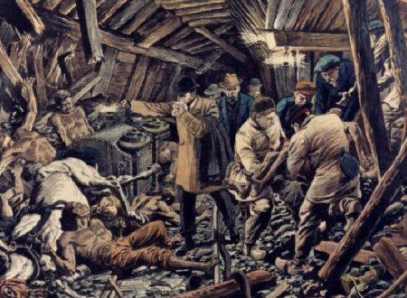 8 agosto 1956 tragedia Miniera di Carbone dove trovarono la Morte 136 immigrati italiani in Belgio