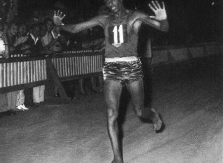 Abebe Bikila atleta che correva senza scarpe muore 25 ottobre 1973