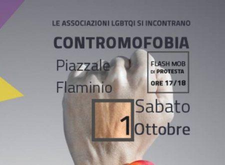 Flash Mob per la legge contro l'omofobia