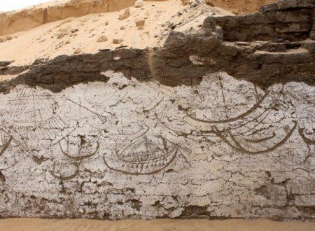 Egitto antico scoperta stanza nascosta destinata barca reale