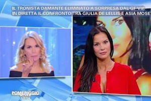 Antonella Mosetti vs Barbara D'Urso: lite in studio
