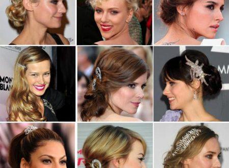 Capodanno 2016-2017 acconciature capelli scintillanti più glam