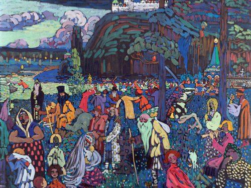 Vasilij Kandinskij cavaliere azzurro arte astratta muore 13 dicembre 1944