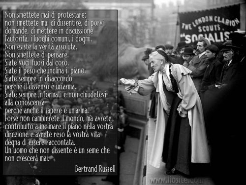 Bertrand Russell connubio filosofia scienza muore 3 febbraio 1970