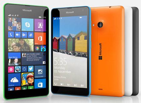 Consigli per gli acquisti Telefonia Microsoft Lumia 535