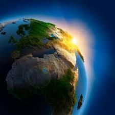 Pianeta Terra compromesso futuro lontano con CO2