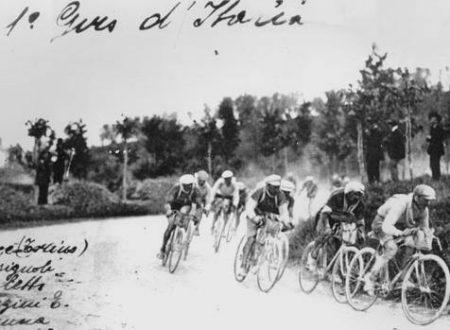 Primo Giro d'Italia ciclistico partenza Milano 13 maggio 1909