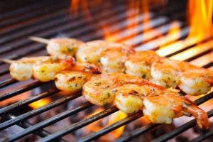Australia e gli Shrimp on the grill