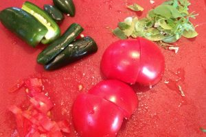 Bolivia e Llajua (salsa piccante)