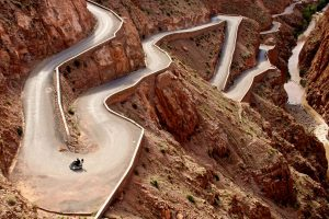 Itinerari d'Autore in Moto dall'Atlantico all'Atlante Marocco