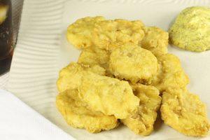 Bocconcini di pollo con salsa alla senape