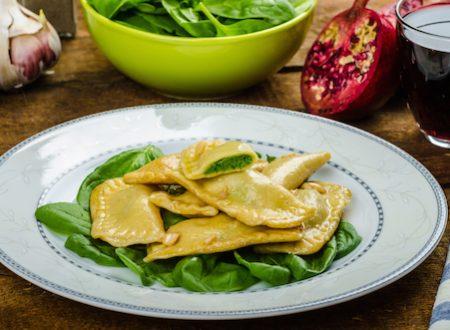 Mezze lune ripiene: ricette vegetariane