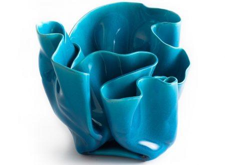 Vaso ondulato di Rosaura Sanna