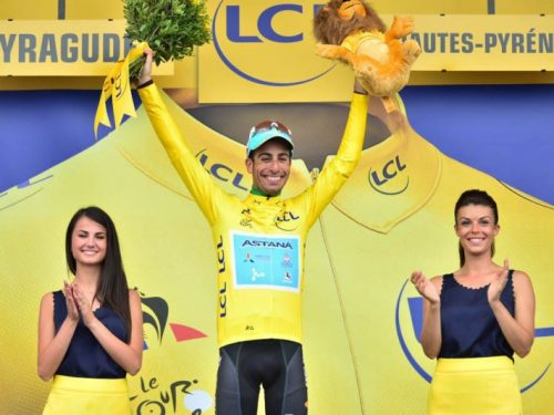 Ciclismo Vuelta di Spagna Fabio Aru presente