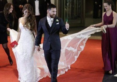 Leo Messi: Nozze benefiche con poche donazioni