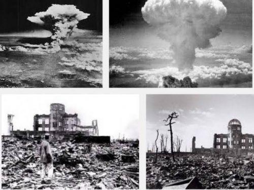 Hiroshima Nagasaki olocausto bombardamento atomico 6 agosto 1945