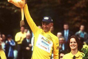 Marco Pantani mitico ciclista italiano vince Tour de France 2 agosto 1998