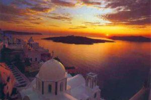 Santorini Grecia isola più bella dell'Egeo quando andare cosa vedere