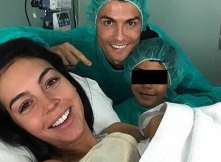 Cristiano Ronaldo papà per la 4 volta