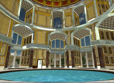 Le storiche Terme di Caracalle in 3D