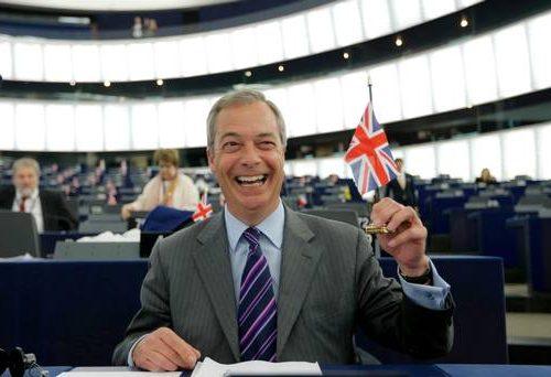 """Farange: """"Secondo referendum sulla Brexit per confermarla"""""""