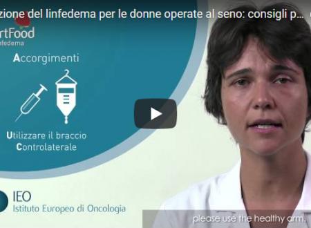 Tumori: Prevenzione del linfedema per le donne operate al seno
