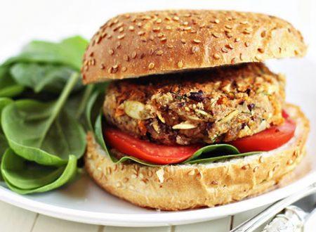I burger vegan ai fagioli rossi