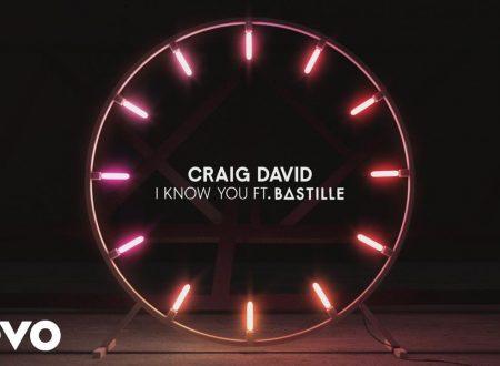 Craig David – I Know You (Feat. Bastille), con testo e video