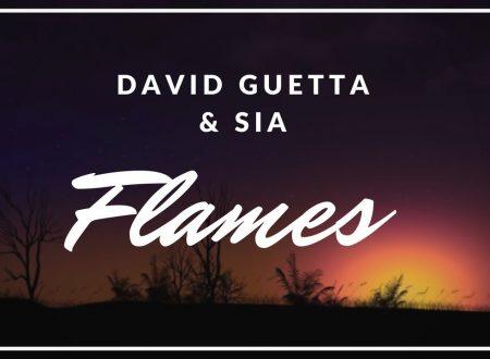 David Guetta e Sia – Flames, con testo e video ufficiale