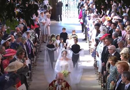 Matrimonio Reale L'arrivo della sposa (Video)