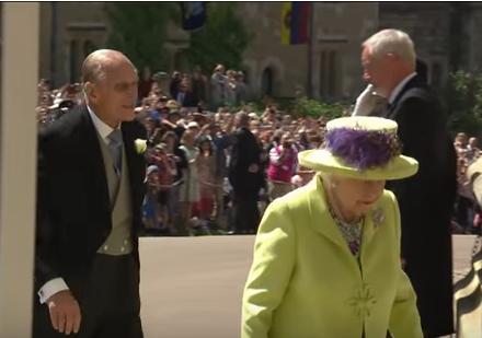 Matrimonio Reale L'arrivo della Famiglia Reale (Video)