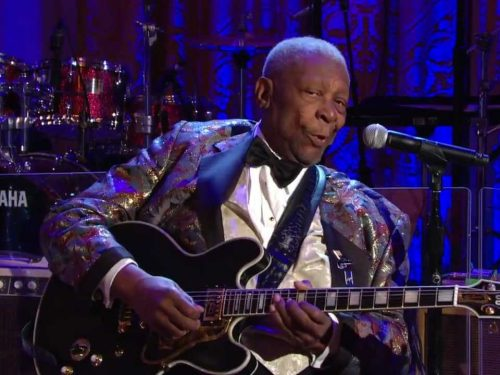 Ricordando B.B. King : The Thrill is Gone, con testo e video