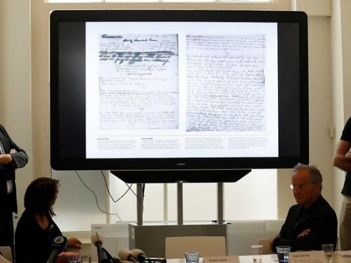 Il Diario di Anna Frank due pagine inedite
