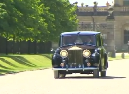 Royal Wedding l'auto di Meghan usata per un funerale reale