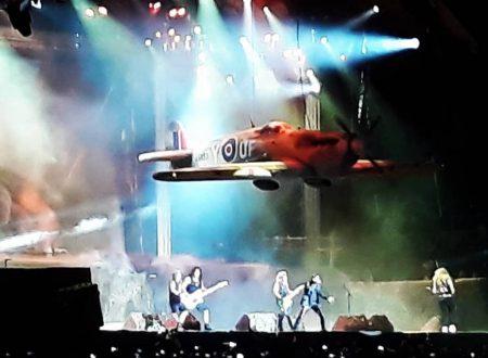 Tripudio per gli Iron Maiden a Firenze