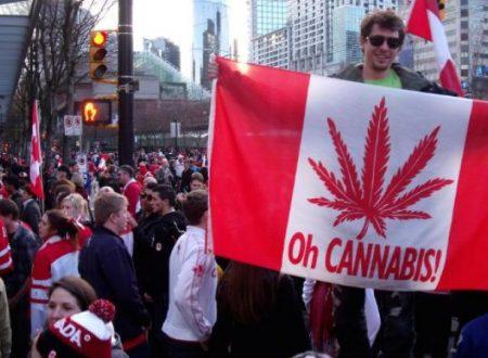 Il Canada legalizza la marijuana per uso ricreativo