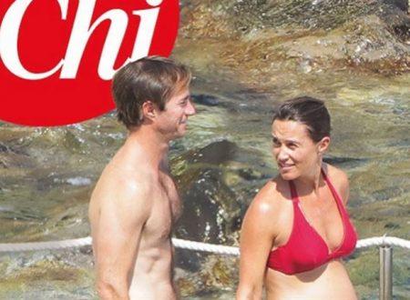 Vacanze italiane per Pippa Middleton e consorte