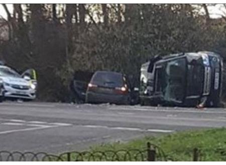 Londra Incidente stradale per il Principe Filippo