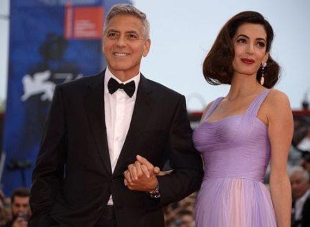 Clooney e Amal terzo figlio in arrivo
