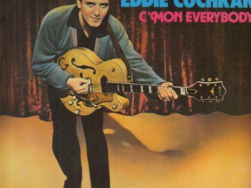 Ricordando Eddie Cochran : C'mon everybody, con testo e video