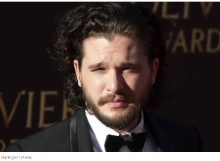 Games of Thrones Kit Harington in clinica