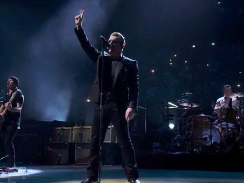 Auguri Bono : U2 – I Still Haven't Found What I'm Looking For, testo e video