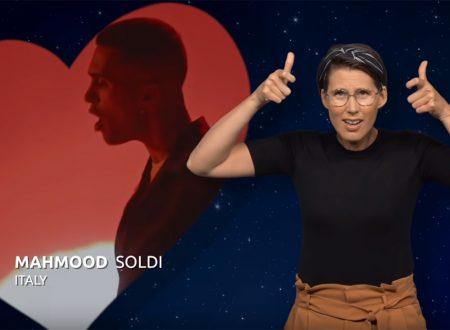 'Soldi' e la versione nella lingua dei segni