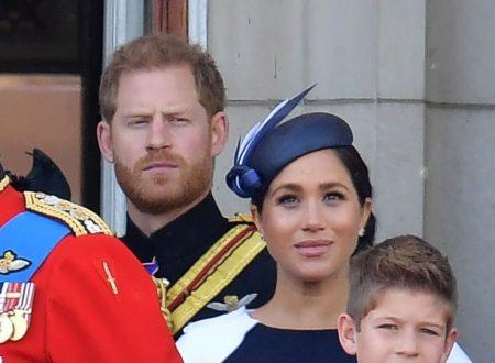 """Regno Unito Harry """"sgrida"""" sua moglie Meghan"""