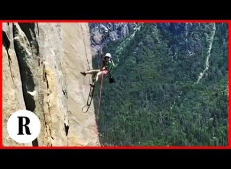 Impresa da record: 10 anni e una parete di 900 metri