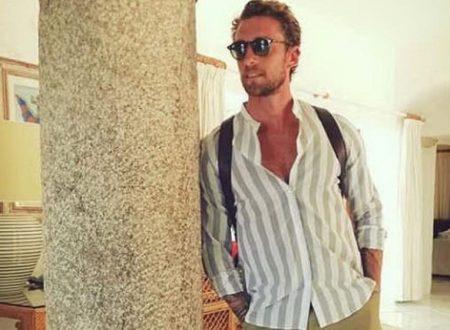 Calciatori in vacanza. Marchisio in Sardegna