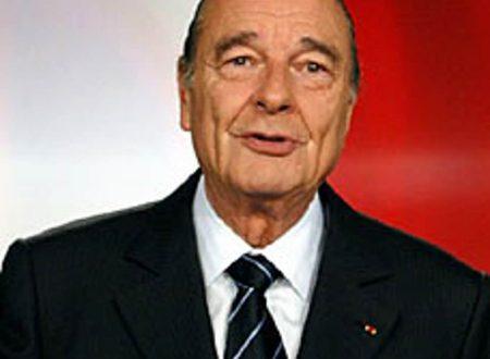 Francia in lutto Morto l'ex Presidente Chirac