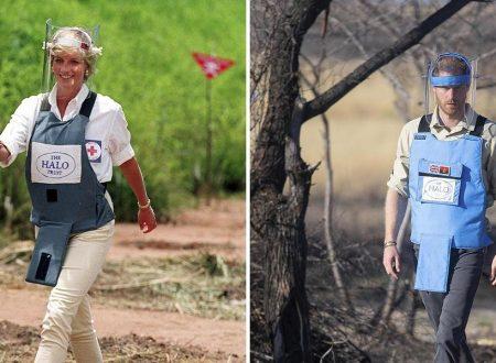 Harry e Lady D contro le mine antiuomo